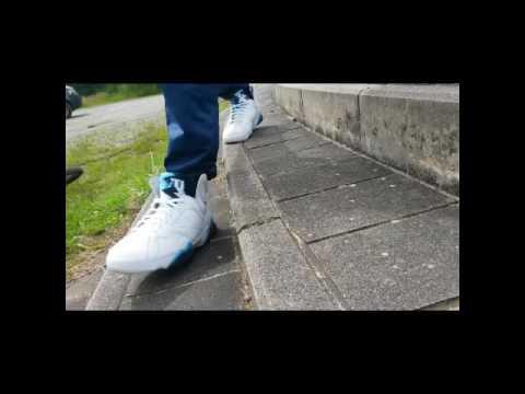 best sneakers 1824e b0f6d Nike Air Jordan 7 Retro French Blue On feet