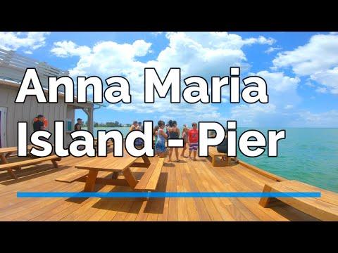 Quick Tour Of Anna Maria Island City Pier   🏖️ - FLORIDA Vacation Lux