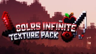 [1.8.8] SolrFlare Infinite 16x |PvP Texture Pack [1.6.4 & 1.5.10] Minecraft PE (Pocket Edition)