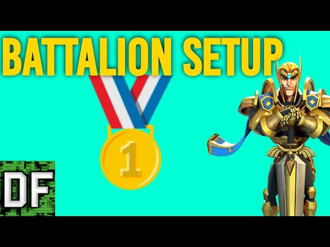 My Battalion Setups For Lords Mobile