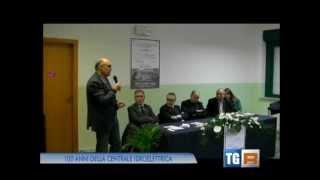 """Servizio TG3 Calabria sulla inaugurazione della Mostra dedicata alla Centrale """"L'Avvenire"""" di Bivongi nei locali dell'Istituto Comprensivo Stilo-Bivongi, a Bivongi"""