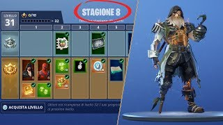 FORTNITE-SHOPPO A BATALHA PASSE DA TEMPORADA 8