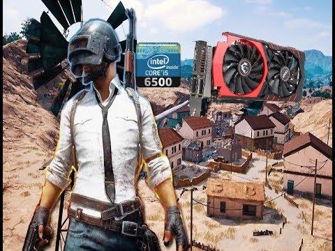 GPU TEST / MSI GTX 970 4GB Gaming 4g / PUBG All graphic settings