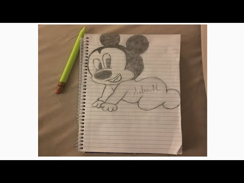 Baby Mickey Mouse | Drawing