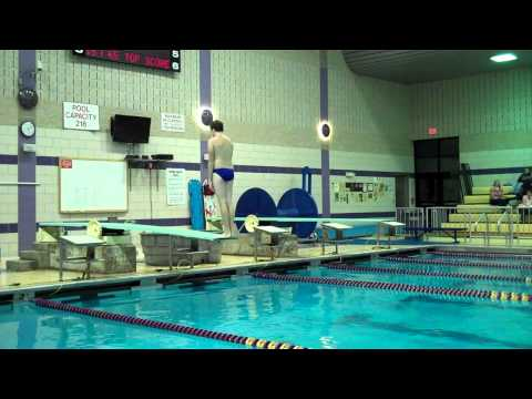 Diving Ballston Spa Boys Swimming vs. Saratoga Part 4