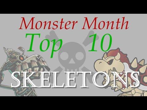 Top Ten Video Game Skeletons
