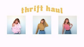 TRY ON THRIFT HAUL   ft. Pumkin