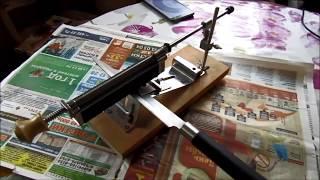Станок RUIXIN PRO для заточки ножей, модернизируем и работаем бюджетными расходниками