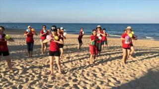 Flashmob Teresa - Ba ngọn nến lung linh - Mừng sinh nhật tròn 36 tuổi CĐ Teresa