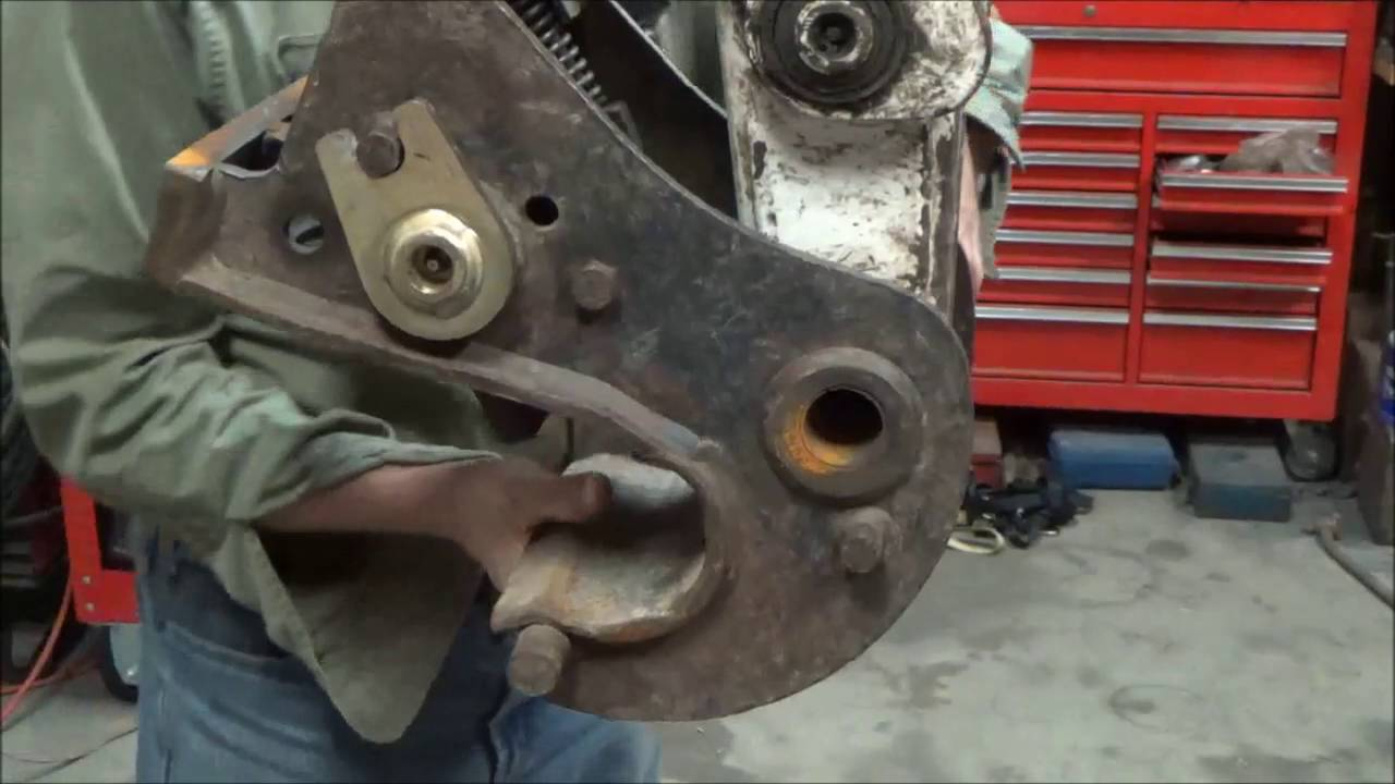 small resolution of changing bushings pins on bobcat 331 mini excavator full video