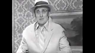 Spike Milligan - Tennis Umpire At Home