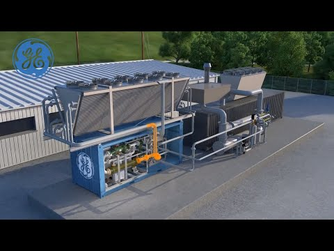GE's Clean Cycle generator transforms waste heat into electricity