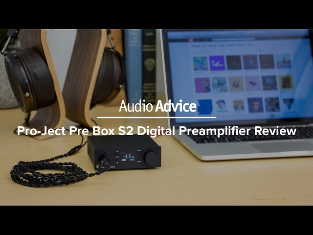 Pro-Ject Pre Box S2 Digital Preamplifier Review - YouTube