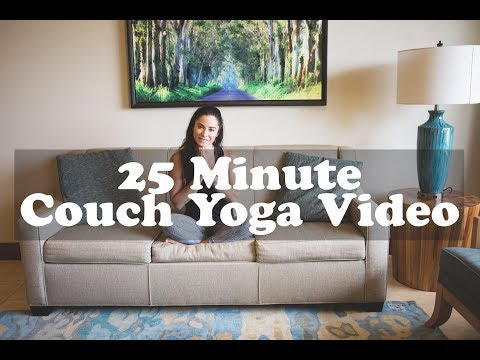 25 Minute Couch Yoga Video