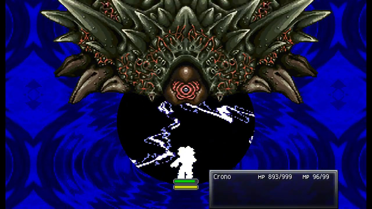 When you accidentally teleport to the final boss (Chrono Trigger solo)