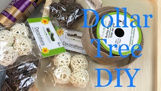Look what I make with a few Dollar Tree items! Quick & Easy DIY