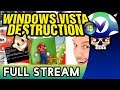 [Vinesauce] Joel - Windows Vista Destruction ( FULL STREAM Part 2 )
