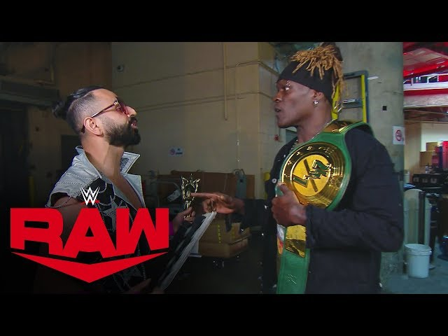Sunil Singh captures the 24/7 Title from R-Truth: Raw, Oct. 21, 2019