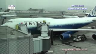 San Francisco International Airport taxiway and runway traffic control