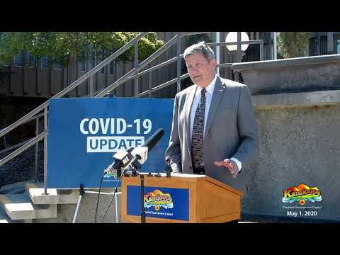 Mayor's Press Conference - May 1, 2020
