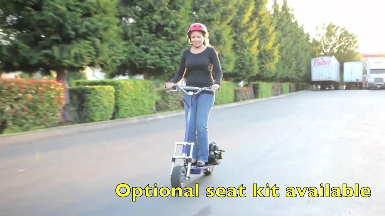 X Treme Xg 550 Gas Scooter Youtube