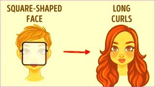 Best Hairstyle According to Face Shape for WOMEN in HINDI