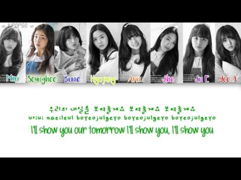(Eng/Rom/Han/Color Coded) Oh My Girl [오마이걸] - Hot Summer Nights