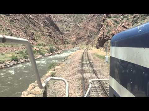 Royal Gorge Railroad CAB RIDE!