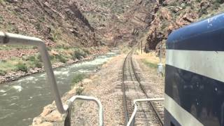Royal Gorge Railroad CAB RIDE!