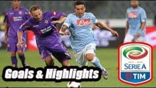 Napoli vs Fiorentina - Goals & Highlights Calcio Série A