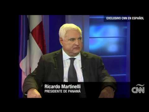 Ricardo Martinelli en Cala