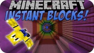 Minecraft INSTANT BLOCKS MOD [Deutsch]