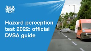 Hazard perception test 2019: official DVSA guide