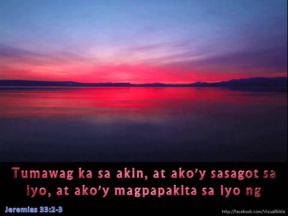 Jeremias 3323  Jer 3323  Tagalog 130min  YouTube