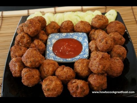 asian-chicken-meatballs-with-wasabi-recipe-how-to-cook-great-food