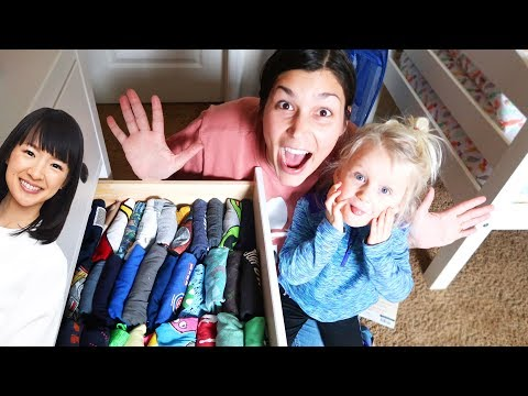 TIDYING UP MY HOUSE WITH MARIE KONDO!