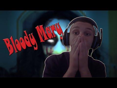 Reakcija na horor film (BLOODY MARY) !
