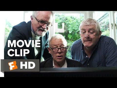 The Sense of an Ending Movie CLIP - Computer Search (2017) - Jim Broadbent Movie