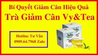 Trà Vy Tea - Diễn viên Lê Phương Gạo Nếp Gạo Tẻ giảm 8kg trong 2 tuần với Trà Vy Tea 0909.64.7968