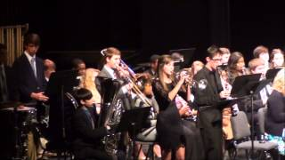 2013 DSU Honor Band - At A Dixieland Jazz Funeral
