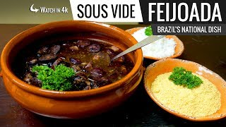 Sous Vide FEIJOADA a Brazilian National Dish - Stew of Beans and Meats