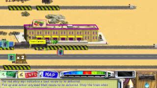 3D ultra lional train town deluxe gameplay