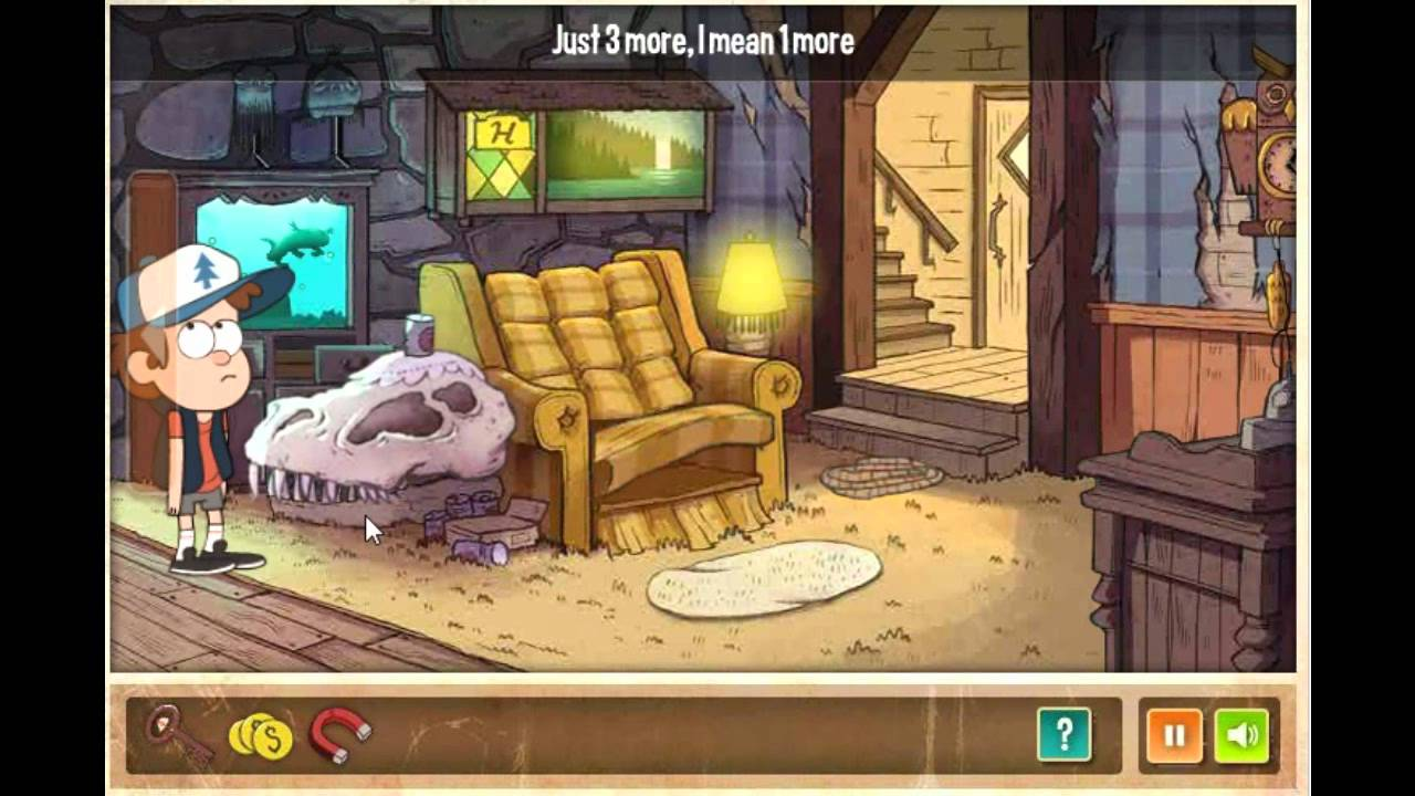 Gravity Falls Mystery Shack Mystery Walk Through Youtube
