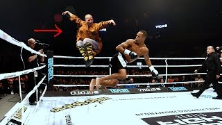 KungFu vs. MMA (Echte Kämpfe)