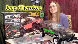 CodesEmpire - Axial SCX10 Jeep Cherokee / Dingo Build
