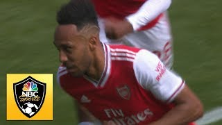 Aubameyang unloads from range to put Arsenal ahead vs Burnley | Premier League | NBC Sports
