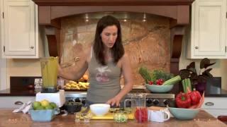 Diana Stobo's Creamy Carrot Soup: Raw Food Recipe