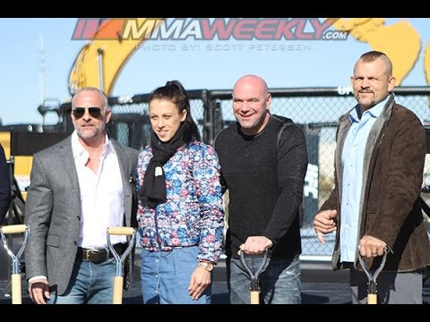 UFC Officially Breaks Ground on New Las Vegas Campus