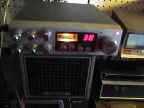 cb radio gate Uniden / President grant dx 38 LSB ... vintage.