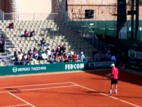 Nishikori vs Berdych 8° Montecarlo 2012